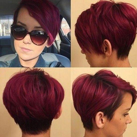 Couleur Cheveux Court 2016