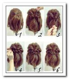 Cheveux Courts Avec Une Pince