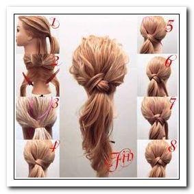 Coiffure Cheveux Long Attaché