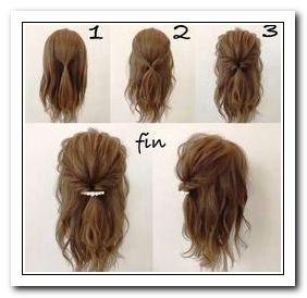 Coiffure Facile Cheveux Long A Faire Soi-Meme