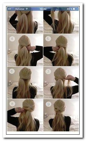 Coiffure Facile Cheveux Mi Long