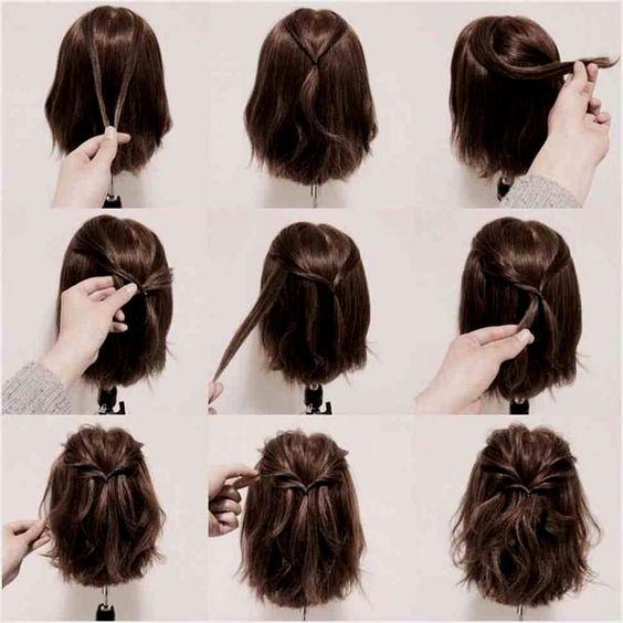 Coiffure Tresse Cheveux Mi Long Tuto