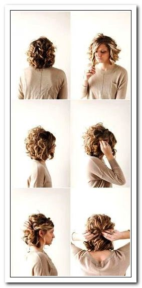 Comment Attacher Ses Cheveux Courts Avec Une Pince Crabe
